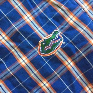 concepts sport Other - CONCEPTS SPORT Florida Gators 🐊 Blue Plaid PJs SM